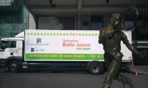 Opération Balles Jaunes 2012 - Camion