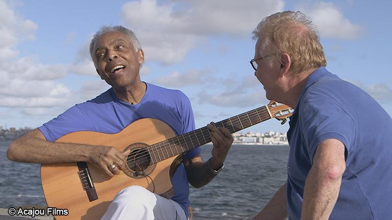 Daniel Cohn-Bendit et Gilberto Gil